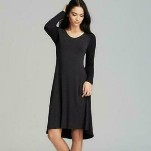 Eileen Fisher | Brown Wide Neck Stretch Dress M